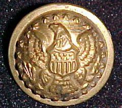 Front view of B. Cope's uniform button